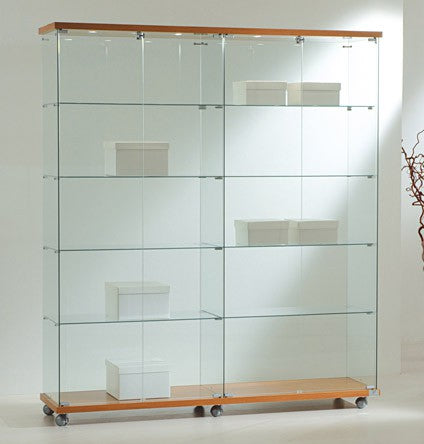 Premier Lite 16.18L Wide Glass Display Showcase