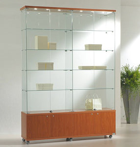Premier Lite 16.22M Tall & Wide Glass Display Case