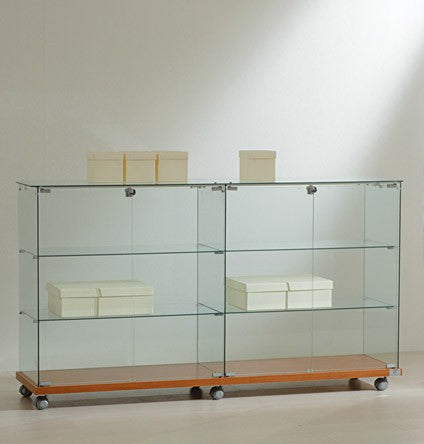 Premier Lite 16.90 Double Wide Glass Display Counter