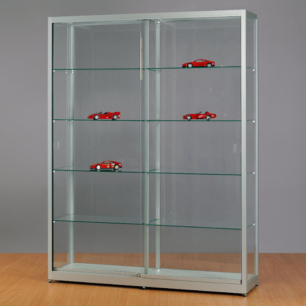 Aspire WME 1500 Glass Display Cabinet silver