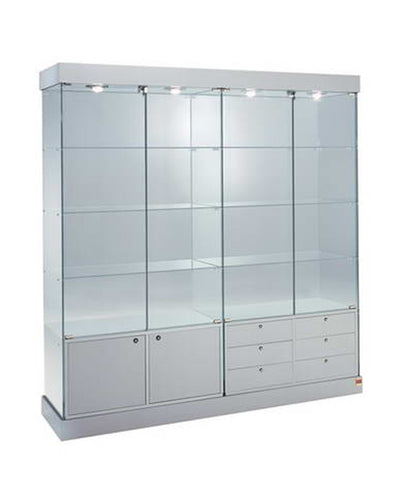 Premier 161CM Lockable Display Showcase & Storage