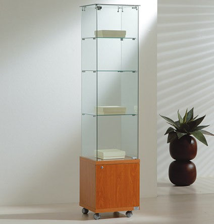 Premier Lite 4.18M Slim Glass Display Unit