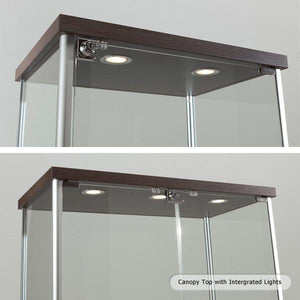 Premier Lite 8.18LT Glass Display Island Cabinet