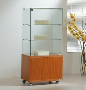 Premier Lite 6.14M Display Case with Cupboard