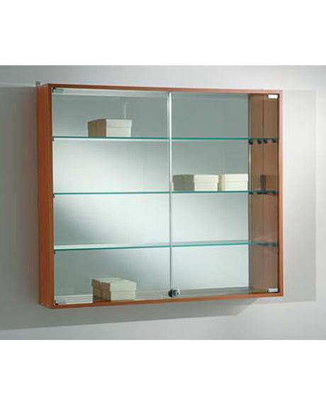 Premier Lite 95.80 Glass Wall Unit Cabinet