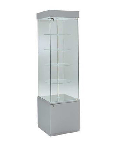 Premier 171R Rotating Glass Display Case