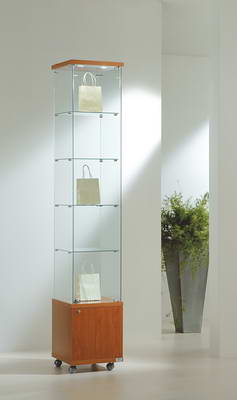 Premier Lite 4.22M Tall Glass Display Cabinet