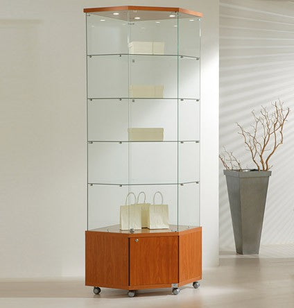 Premier Lite 7.22M Tall Corner Display Cabinet