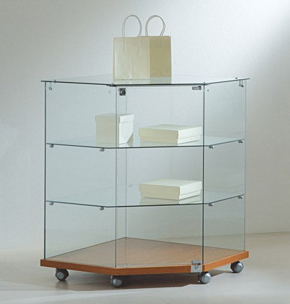 Premier Lite 7.90 Glass Corner Counter