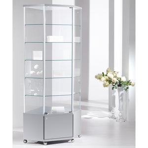Fusion 70MA Extra Tall Corner Storage Showcase