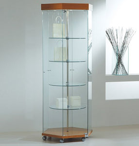 Premier Lite 8.18GE Hexagonal Revolving Display Case