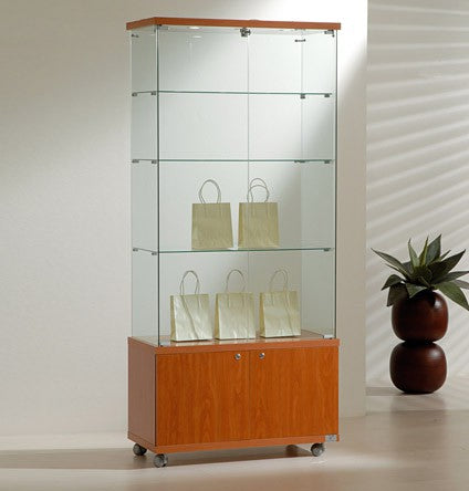 Premier Lite 8.18LM Display Cabinet & Cupboard