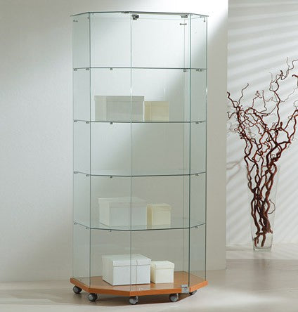 Premier Lite 8.18T Glass Display Island Cabinet