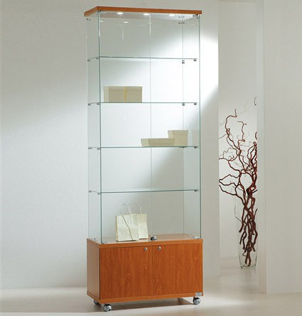 Premier Lite 8.22M Tall Display Cabinet with Storage