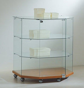 Premier Lite 8.90T Glass Island Display Counter