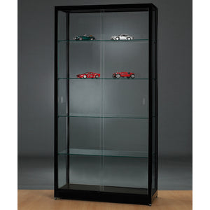 Aspire WME 1000 Glass Display Cabinet silver