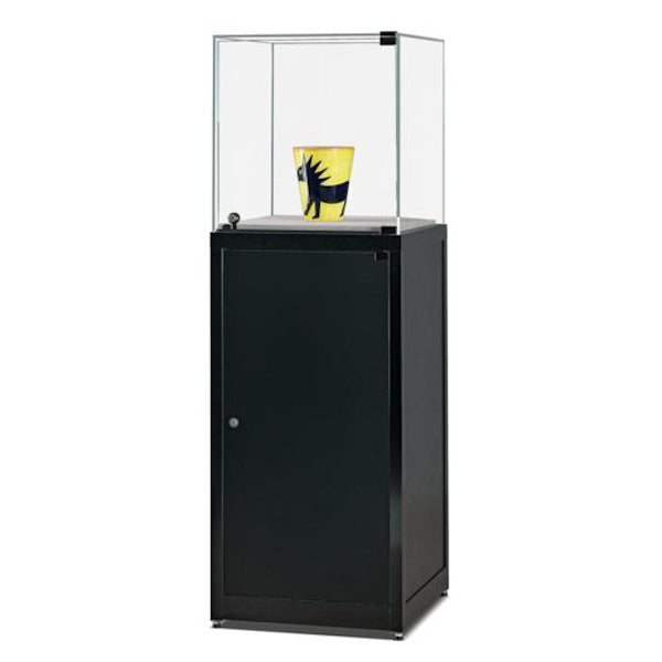 Nexus SV1 500 Pedestal with glass top, hinged door and storage