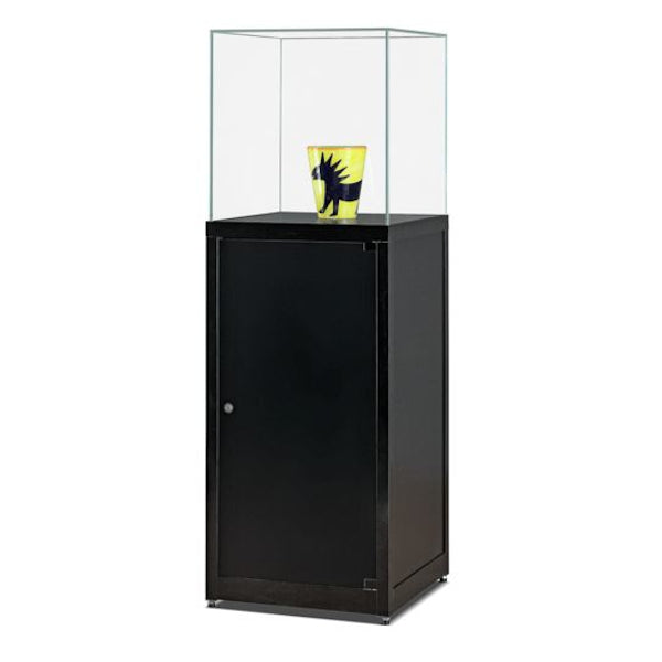 Nexus SV1 500 Pedestal with glass top and lockable storage
