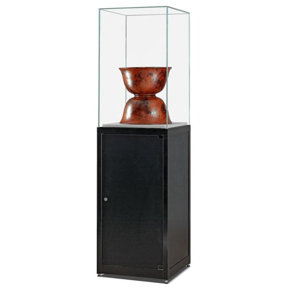 Nexus SV1 500 Pedestal with high glass top and storage