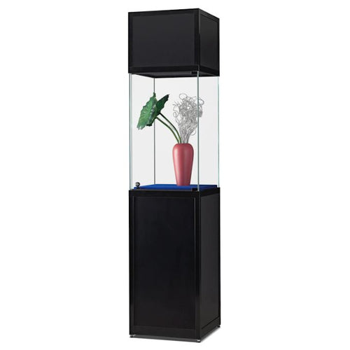 Nexus SV1 500 pedestal with high glass display and header