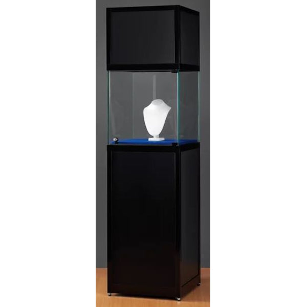 Nexus SV1 500 pedestal with glass display and header