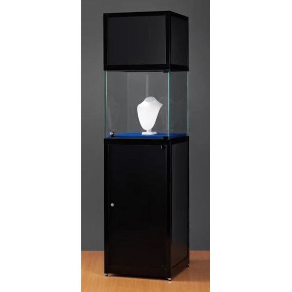 Nexus SV1 500 pedestal with glass display, header and storage