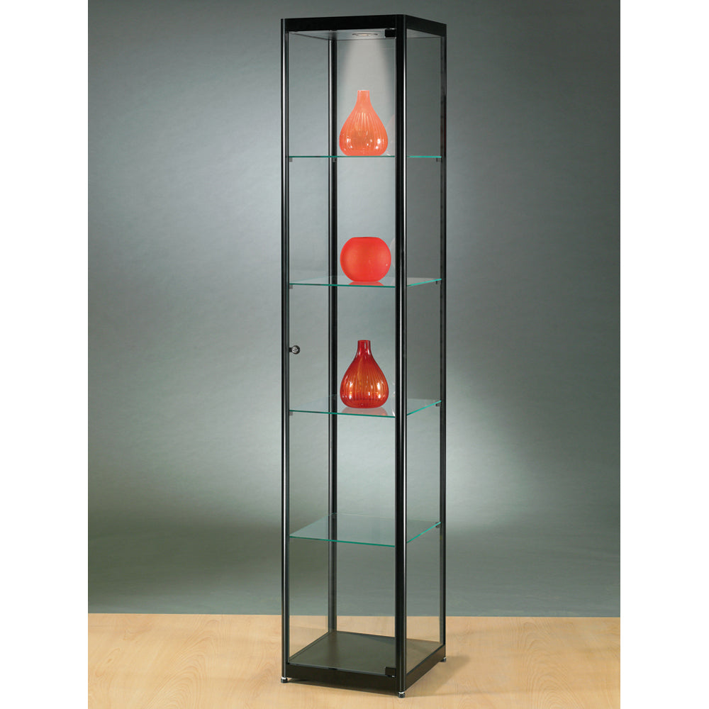 Aspire MPC 400 Glass Display Cabinet black