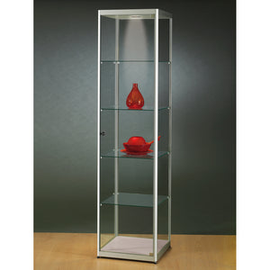 Aspire MPC 500 Glass Display Cabinet silver