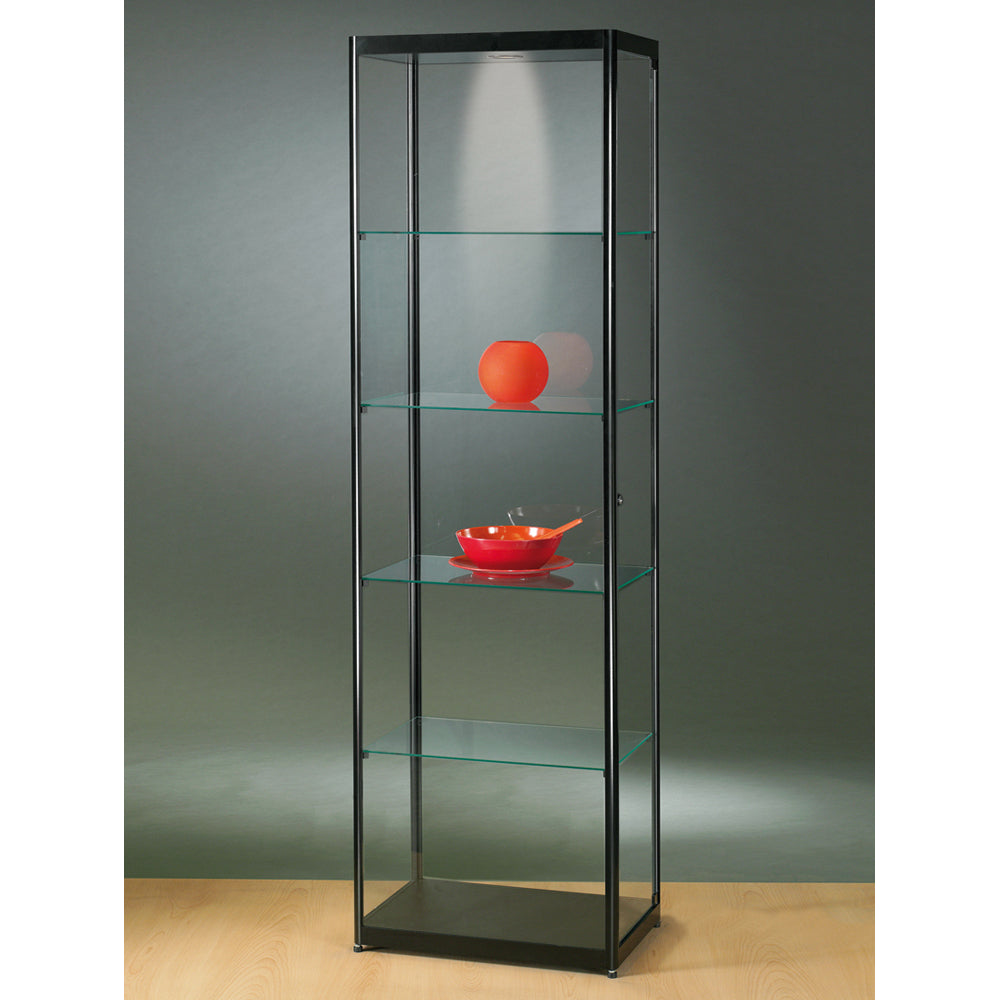 Aspire MPC 600 Glass Display Cabinet black