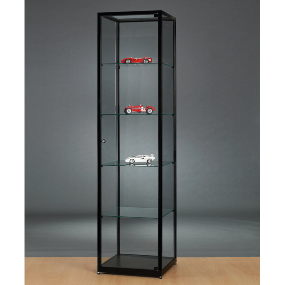 Aspire WMS 500 Glass Display Cabinet black