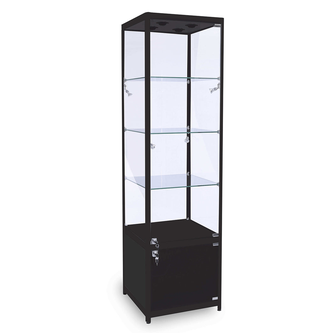 Lumina TC500 Display Cabinet with Storage