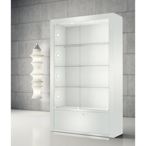 Opus Q120 Display Showcase with Storage