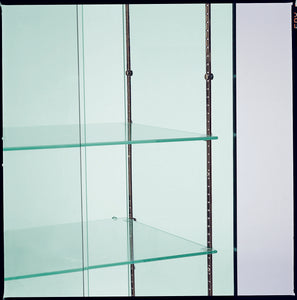 Premier 160 Midi Height Glass Cabinet