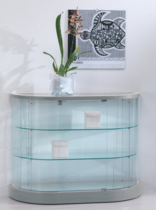 Elegance Half Oval Display Counter