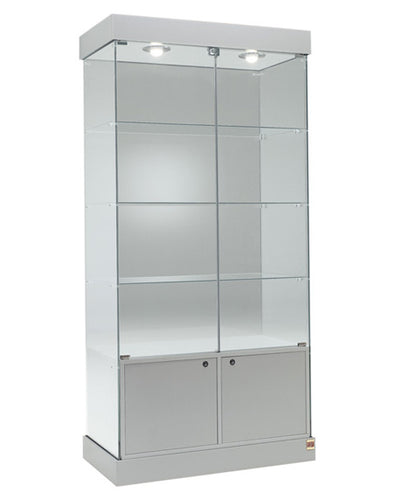 Premier 121 Glass Display Showcase with Lighting