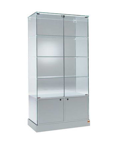Premier 120 Display Showcase with Storage