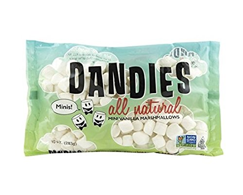 Dandies Vegan Marshmallows Vanilla Minis, 10 Ounce