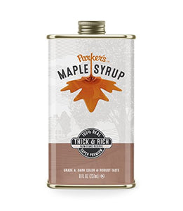 Parker's Real Maple Syrup, Original, 8 Ounce Tin