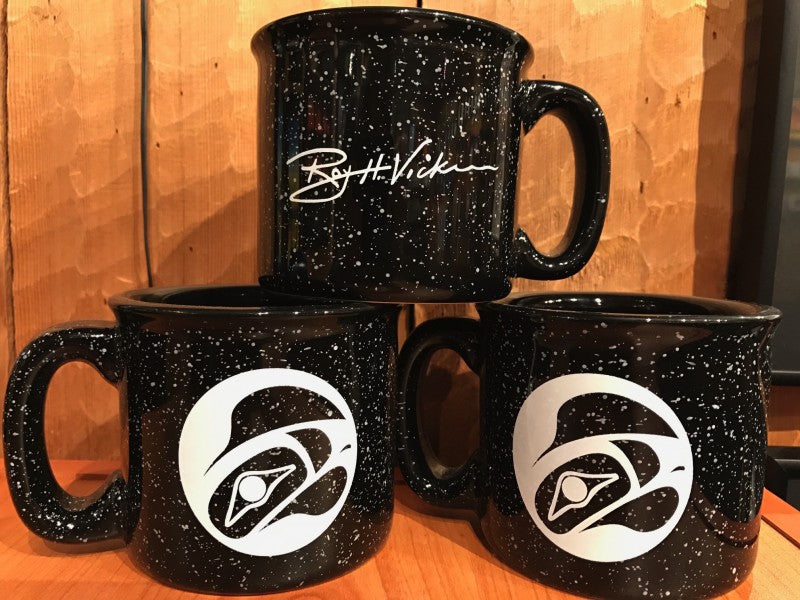 CERAMIC CAMP MUG - EAGLE'S MOON BLACK