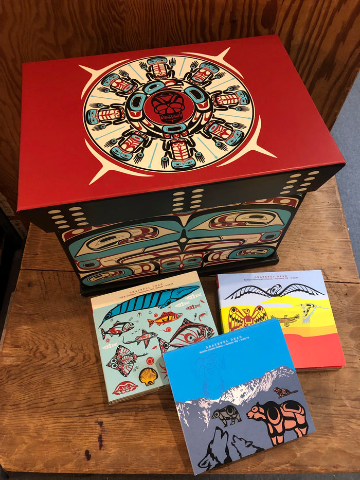 Grateful Dead Boxed Set with artwork by Roy Henry Vickers