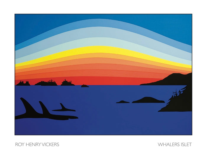 WHALER ISLETS - ART CARD