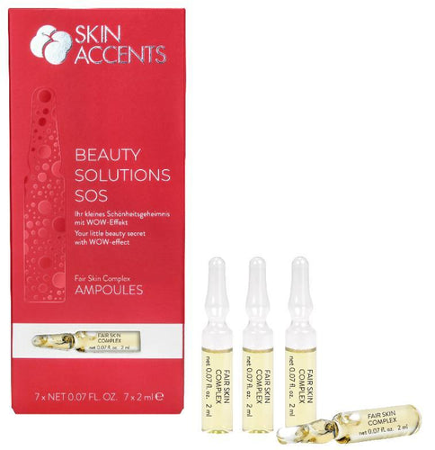 Fair Skin Complex, Beauty Solutions SOS 7 x 2ml