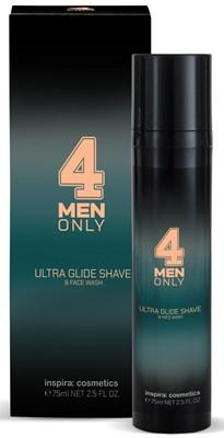 Ultra Glide Shave & Face Wash 75ml