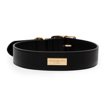 Load image into Gallery viewer, VP Pets Wide Large-Breed Collar - Black - Vanderpump Pets