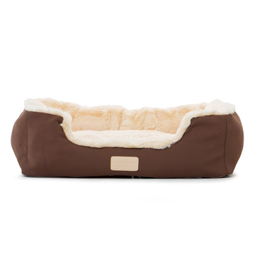 VP Pets Brown Bed - Vanderpump Pets