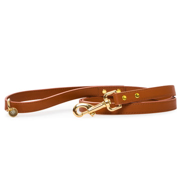 VP Pets Classic Ken Leash - Brown - Vanderpump Pets
