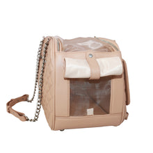Load image into Gallery viewer, Vanderpump Classic Quilted Luxury Pet Carrier - Pink - Vanderpump Pets