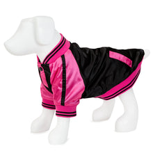 Load image into Gallery viewer, F&R for VP Pets Windbreaker Baseball Jacket - Pink - Vanderpump Pets