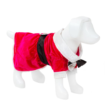 F&R for VP Pets Tuxedo Dress - Pink