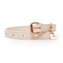 Load image into Gallery viewer, VP Pets Classic Lisa Collar - Cream - Vanderpump Pets